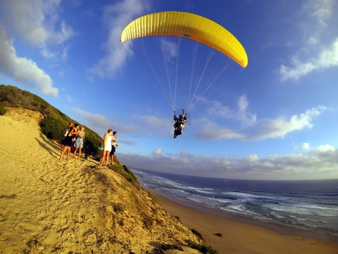 Paragliding, Garden Route Adventure Weekend, Afroventures Adventure Company