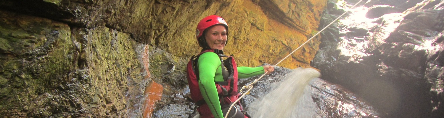 Canyoning or Kloofing