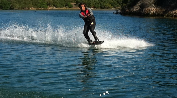 Wake boarding in Sedgefield